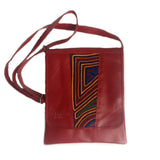 Medium Mola Purse Red