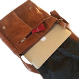 Mola Messenger Bag in Brown
