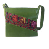 Mola Messenger Bag in Green