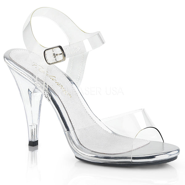 PLEASER CARESS 408 CLEAR HEELS - Selina Bikini