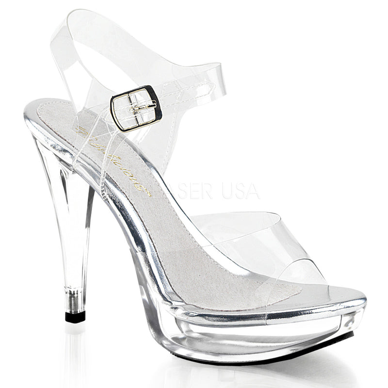 PLEASER COCKTAIL 508 CLEAR HEELS - Selina Bikini