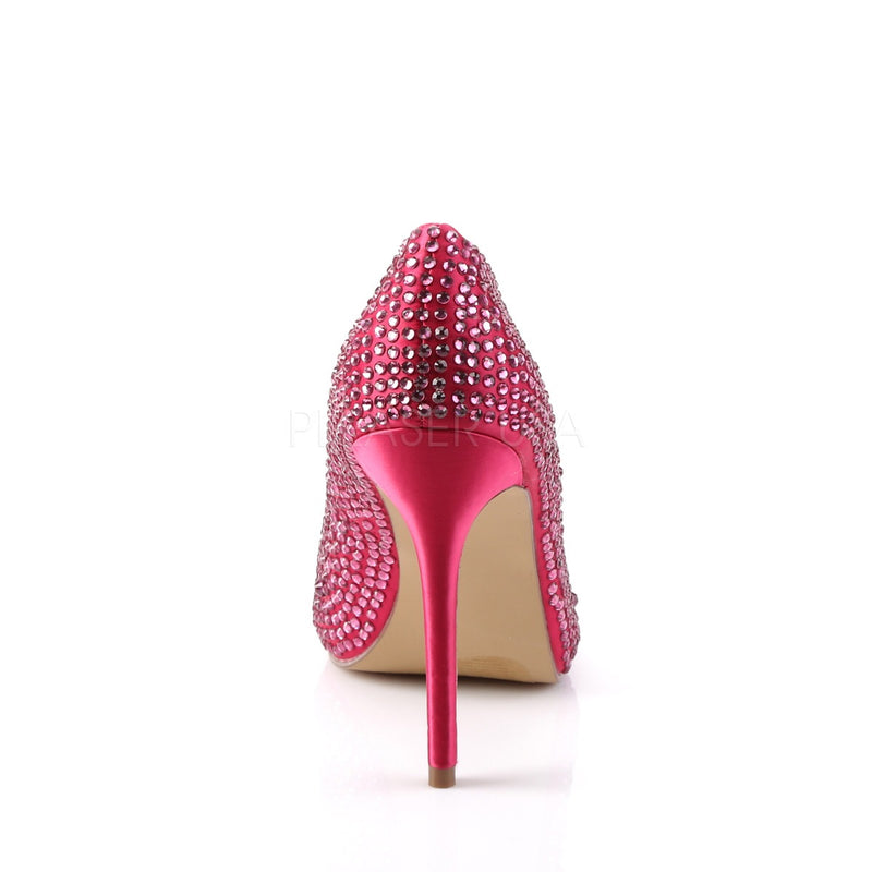 PLEASER AMUSE 20RS HOT PINK HEELS - Selina Bikini