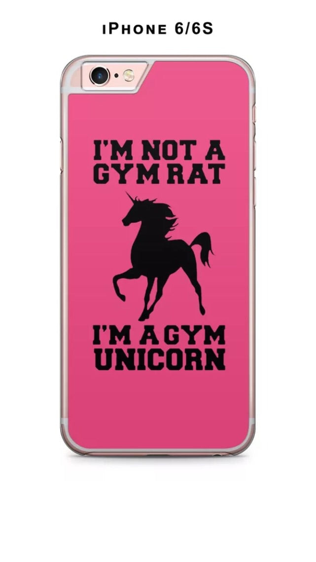 GYM UNICORN PHONE CASE COVER FOR IPFONE 6/6S - Selina Bikini