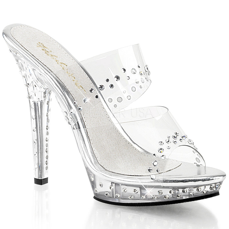 LIP 102 RS RHINESTONE POSING SHOES - Selina Bikini