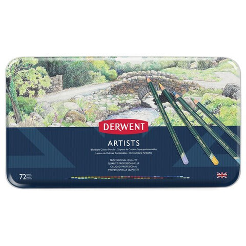 Derwent Artists 72 Tin