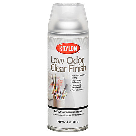 Low Odour Clear Spray Varnish