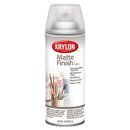 Matte Finish Spray Varnish