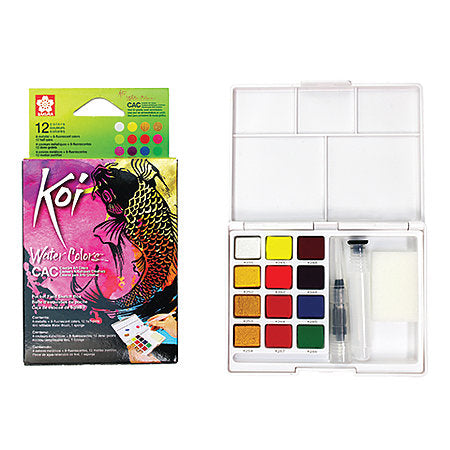Koi Creative Art Colors Watercolour Sets