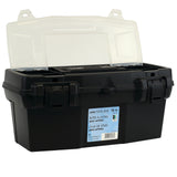 Black Heavy-Duty Tool Box 20""