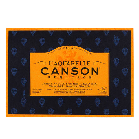 Canson Heritage Watercolour Pad