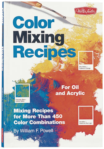 Color Mixing Recipes Books