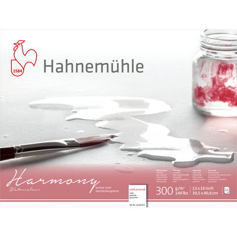 Hahnemühle Harmony Watercolor Paper Blocks
