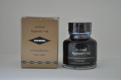 Diamine Registrars Ink Blue-Black 30ml