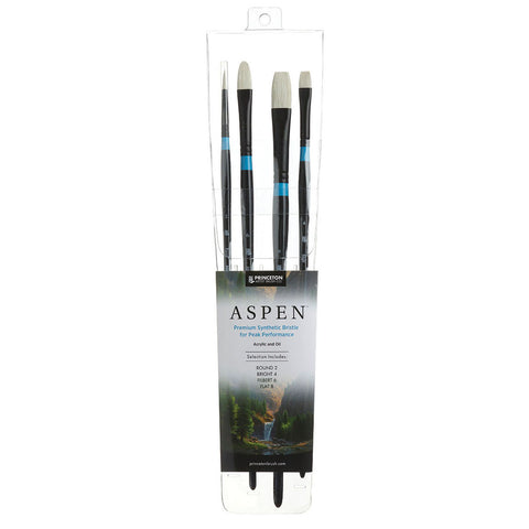 Princeton Aspen 4 Brush Set