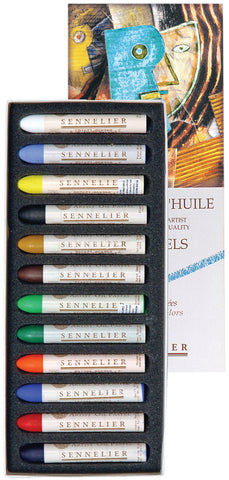 Sennelier Oil Pastel Set 12