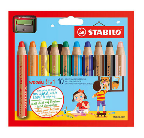 Stabilo Woody Sets