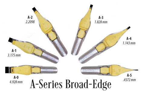 Speedball Broad Edge Nibs
