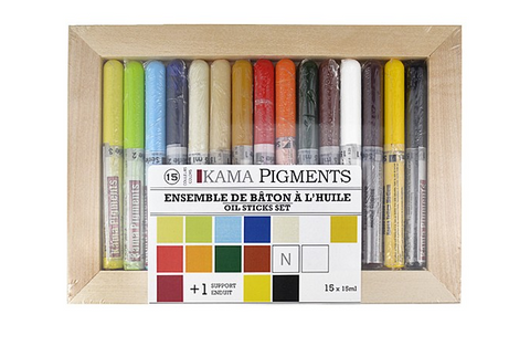 Kama oil Stick Set