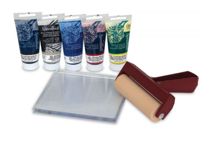 Gel Printing Kit - 7pieces