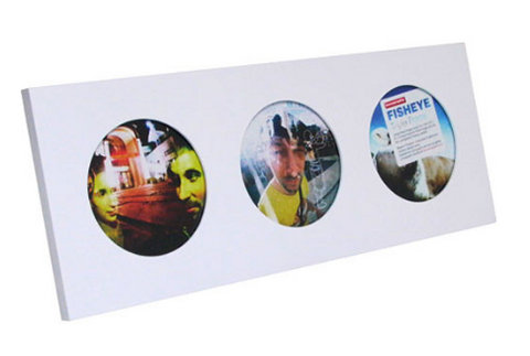 Lomography Fisheye Triple Picture Frame