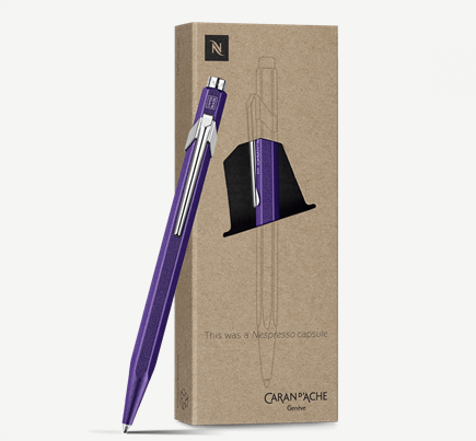 Ballpoint Pen 849 NESPRESSO Purple- Limited Edition