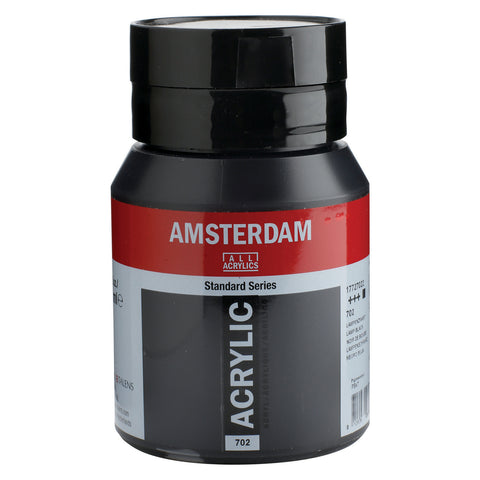 Amsterdam Acrylic Large Lamp Black