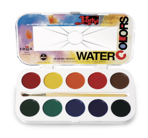 Yarka Watercolour 10 Pan Set
