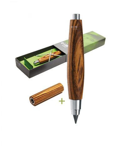 Clutch Pencil 5.5mm Zebrano Natural Set
