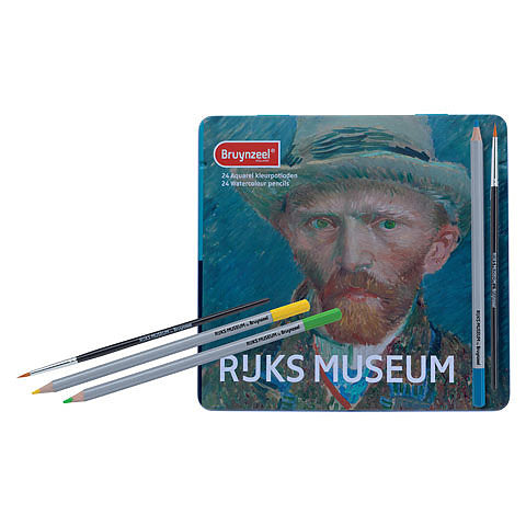 Rijksmuseum 24-Pencil Watercolor Pencil Set