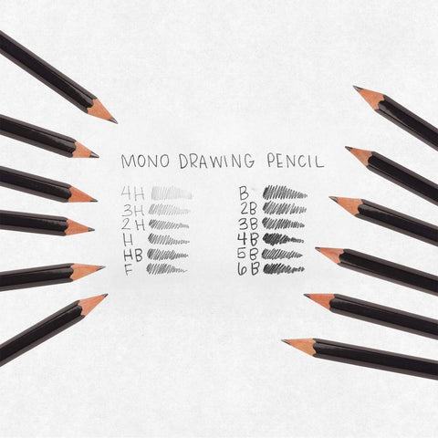 Tombow Mono Graphite Pencils