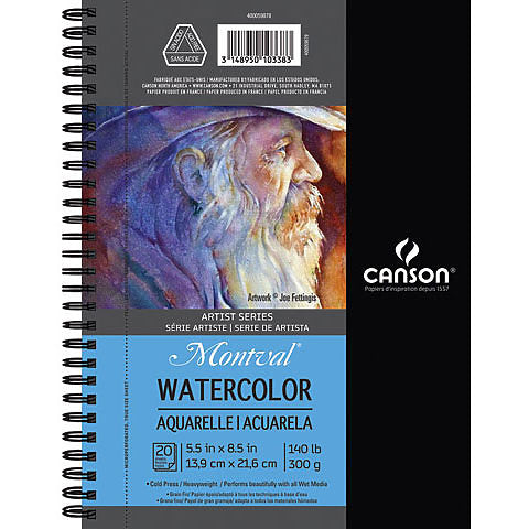 Montval Artist Series Watercolour Books