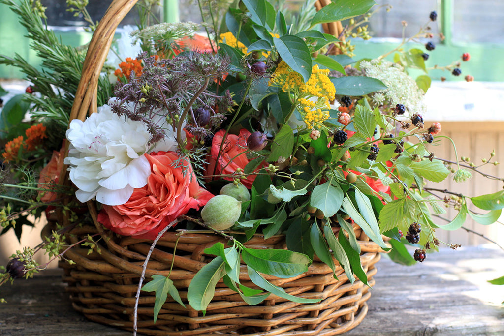 harvest basket by sewickley event florist - cuttings