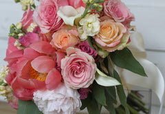 spring wedding bouquet - pittsburgh event florist
