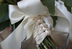 wedding bouquet detail - pittsburgh event florist