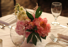 grand concourse wedding centerpiece by pittsburgh event florist