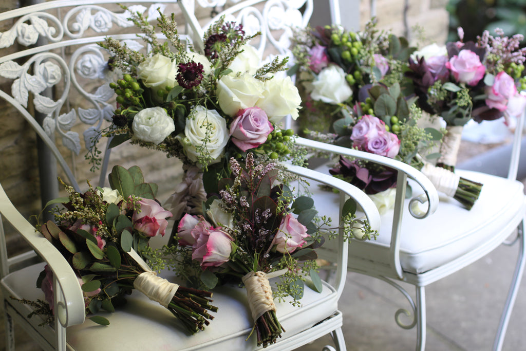 bridal bouquets from longue wedding by sewickley wedding florist