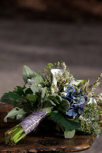 wedding bouquet from stone barn wedding by sewickley wedding florist