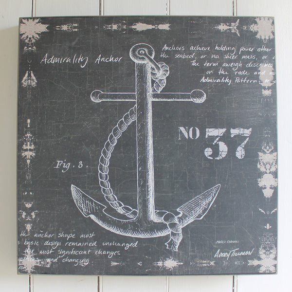 anchor print from cuttings' home collection in sewickley