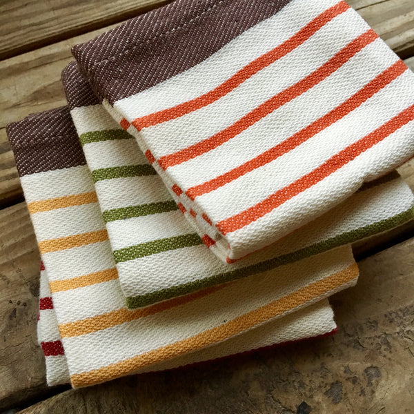 harvest dishcloths