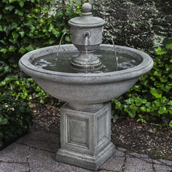 rochefort fountain from cuttings' garden in sewickley & pittsburgh