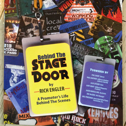 behind the stage door