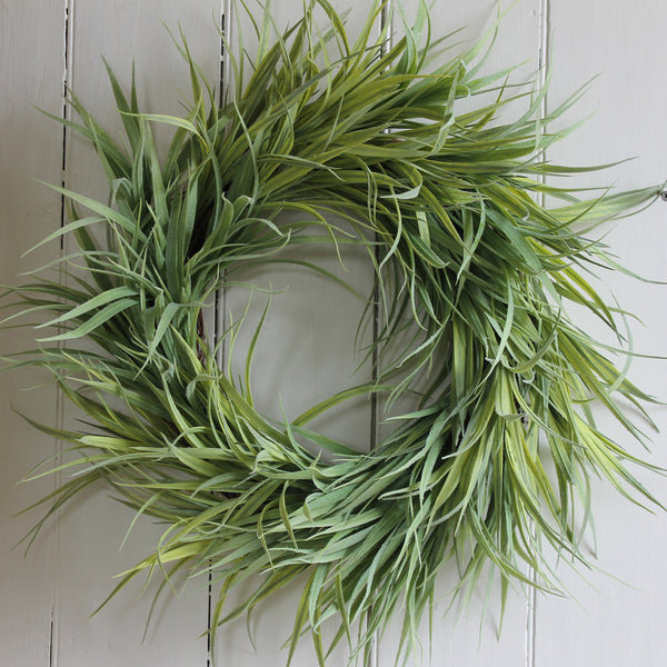 faux grass wreath from cuttings in sewickley & pittsburgh