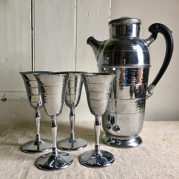 Vintage Cocktail Set