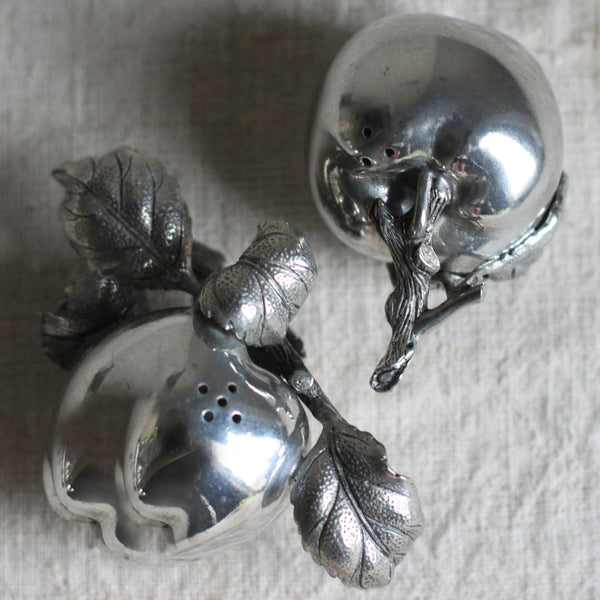 pewter salt & pepper from cuttings' home collection in pittsburgh, pa