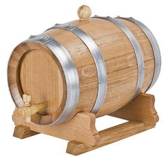 French Oak 1lt Barrel|Baril Chêne Français 1lt