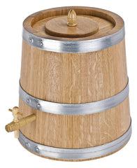 French Oak 10lt Vinegar Barrel|Vinaigrier Chêne Français 10lt