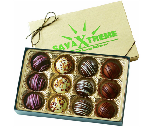 Box of Chocolates with Logo
