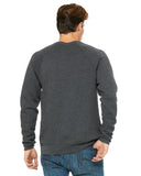 Grey Unisex Sweater Back View