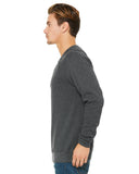 Grey Unisex Sweater Side View