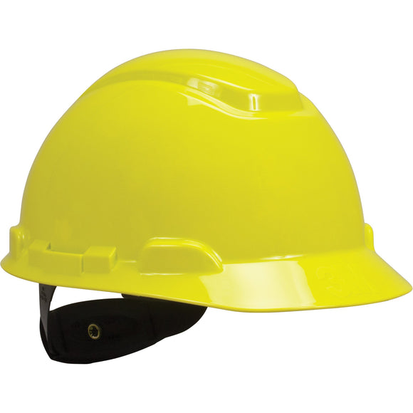 3M unvented yellow hardhat with uvicator sensor